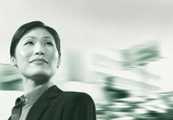 Asian Business Woman–Comerica Bank