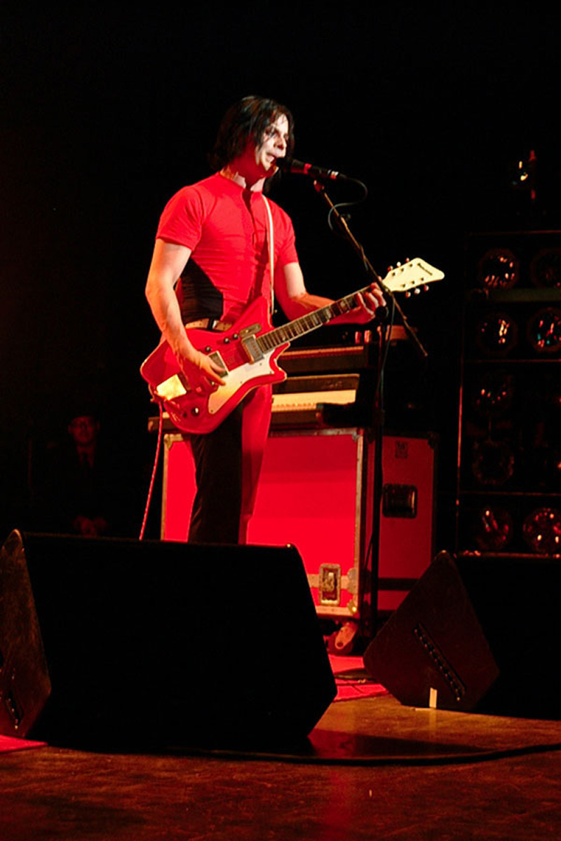 Jack White/White Stripes ‒ Masonic Temple  ‒ Detroit, MI