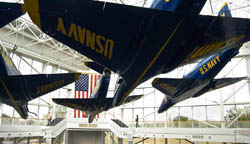 Blue Angels–Naval Aviation Museum–Pensacola, FL;
