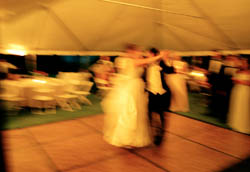Wedding Dance–Grosse Pointe, MI; Wedding Tent; Celebration