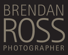 Brendan Ross, Photographer Logo