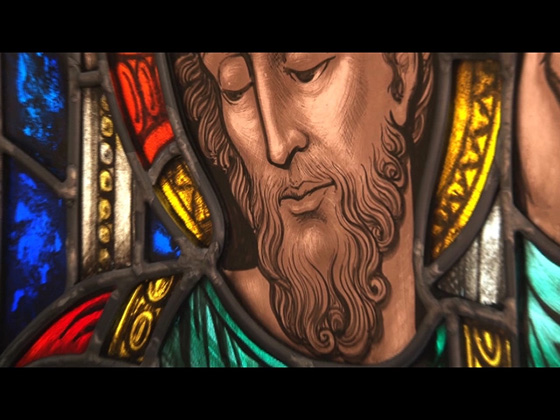 Stained Glass Video; Christ Church Grosse Pointe; Rohlf's Stained and Leaded Glass Studio;